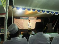 tabligh akbar di desa srigonco